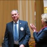 Mike McQuiston becomes a Paul Harris Fellow